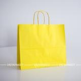 Цветной крафтовый пакет