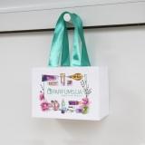 Бумажный пакет-сумка parfums.ua