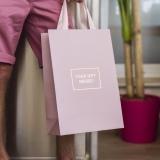 Бумажный пакет-сумка
