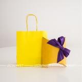 Бумажная сумка и коробочка Вистапакет