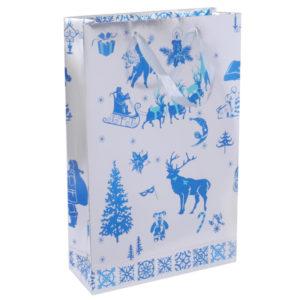 Бумажный пакет новогодний