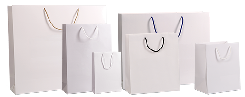 Білі ламіновані пакети