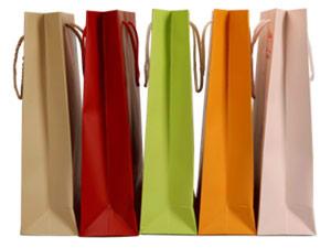 кольорові ламіновані пакети