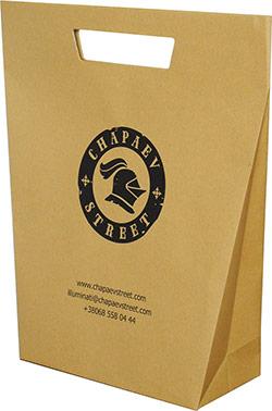 пакет з лого